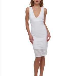 Guess White Cocktail Dress 4